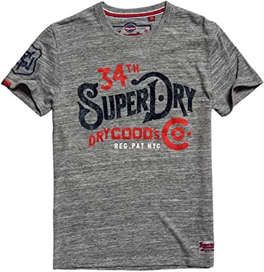 Superdry Mens 34Th Street T-Shirt