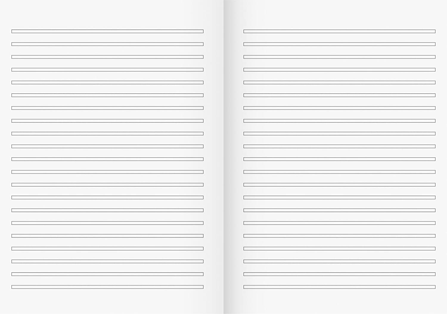 Brunnen//–/104430302/School Notebook A4/32/Pages Ruled line Style 3, 3