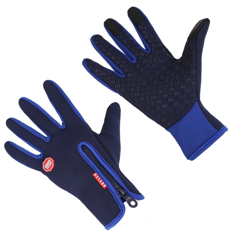 Aruny Guanti invernali antivento termico per uomo donna ideale per lo sport  all aria aperta 4f7634726765
