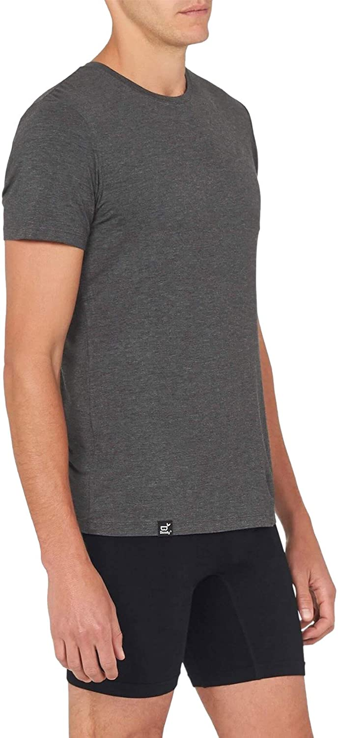 Cooling Athletic Short Sleeve Tee Boody Body EcoWear Mens Crew Neck T-Shirt