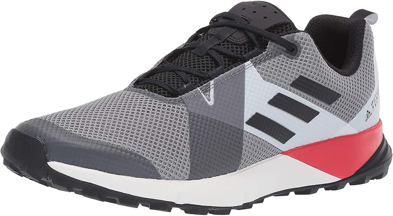 adidas Bc0499, Men's Terrex Two Grey Three Black Active Red