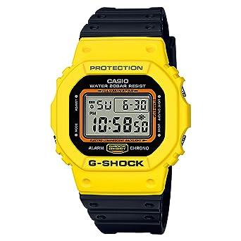 1f33da2158ff G-Shock Men s DW5600TB-1 Watch Yellow  Amazon.ca  Clothing   Accessories
