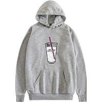 JHDESSLY Unisex Ice Coffee Splatter Hoodie Charli Amelio Men Women Hoodies Sweatshirts Pullover Costume Tracksuit