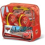 Mondo 28105 - Pattini per Bambini Cars + Protezioni, Regolabili, Taglia 22-29