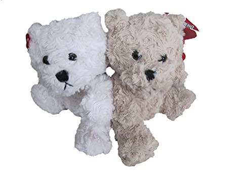 abb7e4dca11 Amazon.com  Hershey Bears Duo (White   Brown)  Toys   Games