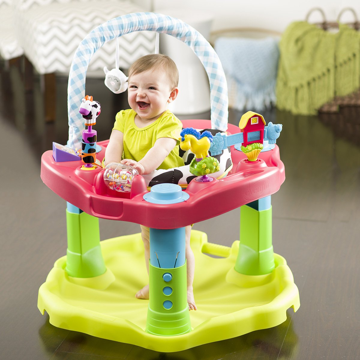 de75f3cd7 Amazon.com   Evenflo Exersaucer Moovin   Groovin Activity Center   Baby