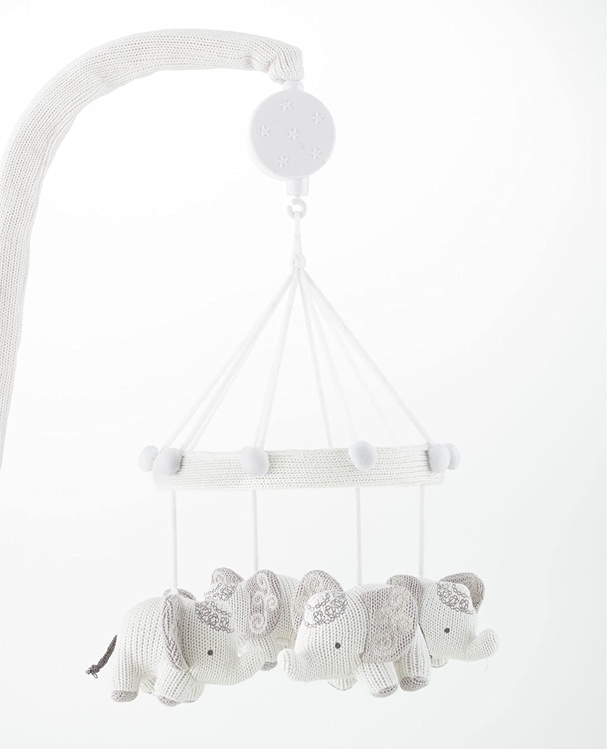 Levtex Home Baby Ely Musical Mobile, Grey