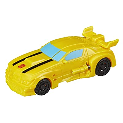 Transformers Cyberverse Action Attackers: 1-Step Changer Bumblebee Action Figure Toy: Toys & Games
