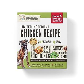 Honest Kitchen Limited Ingredient Chicken Dog Food Recipe 2 Lb Box