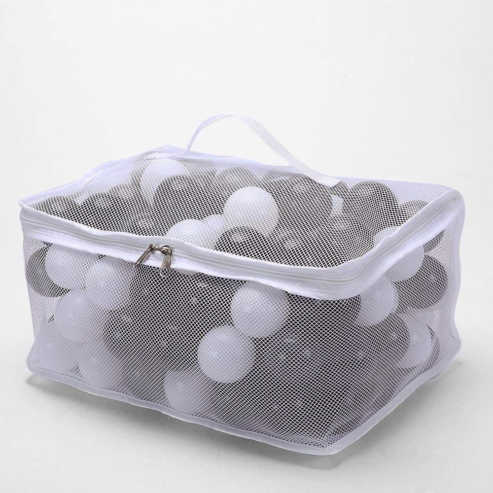 150pcs Plastic Balls For Kids - Black Gray White Ocean Balls For Baby Amusement Park Crush Proof Toy Balls Pit Balls For Children Play Games Plastics Balls Outdoor or Indoor (2.16 inches (5.5cm))