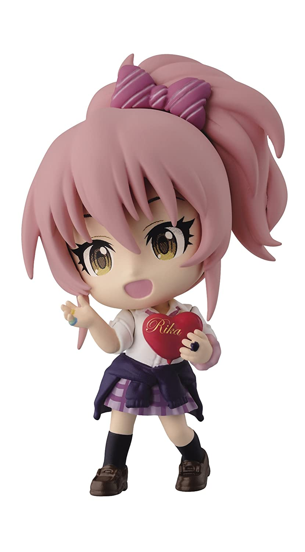 Banpresto The Idolmaster 2.4-Inch Mika Jyougasaki Cinderella Girls Figure, Chibi-Kyun-Chara Series B00UN7E0OW