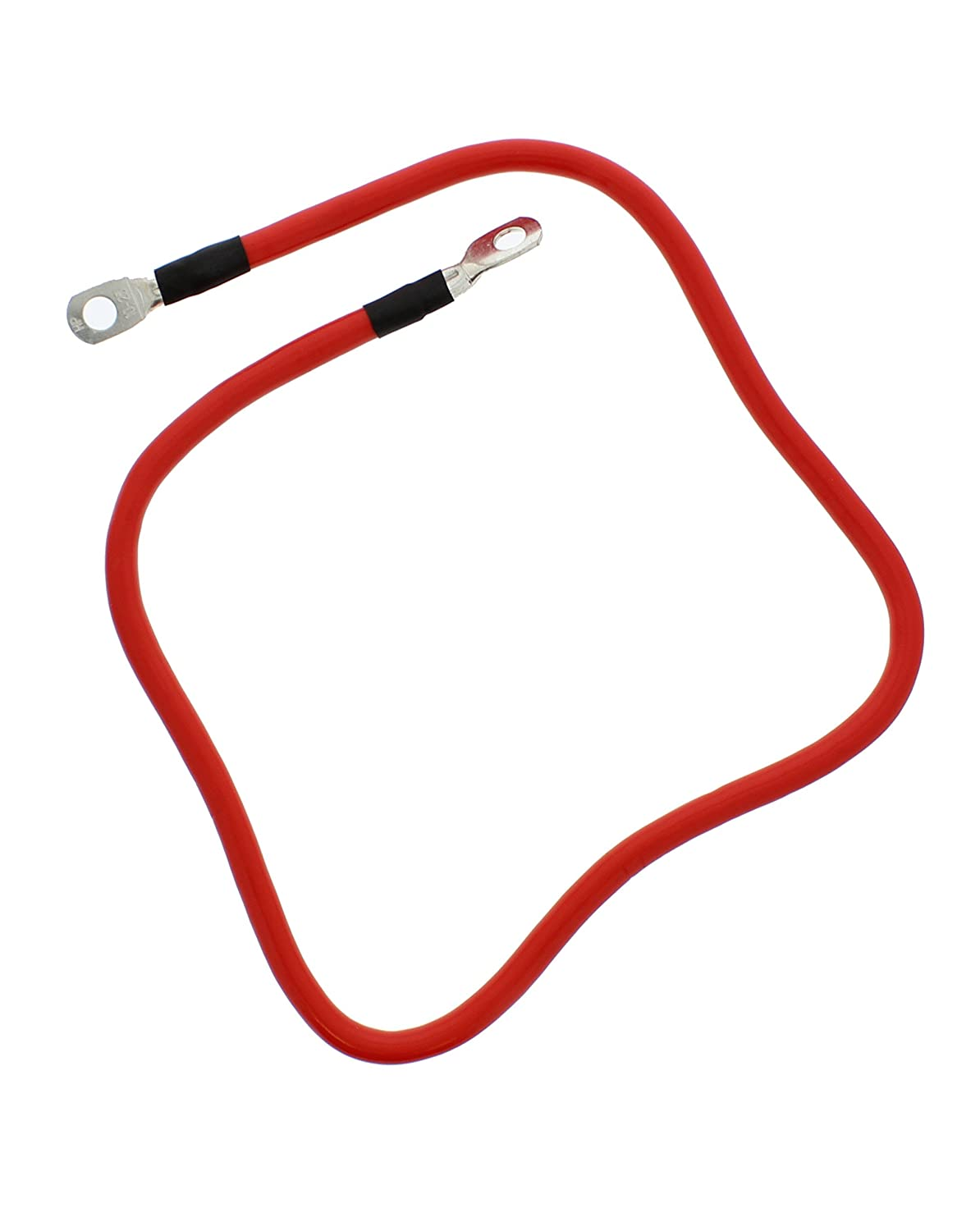 ABN Red 3//8 Stud 12 Long 2-Gauge Marine Battery Cable /& Tinned Lug Assembly Club Car 7295 EZ Go 11888-G2 14610-G1