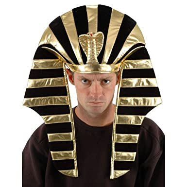 6acf5d6703d Amazon.com  King Tut Costume Headdress for Adults and men by elope  Clothing