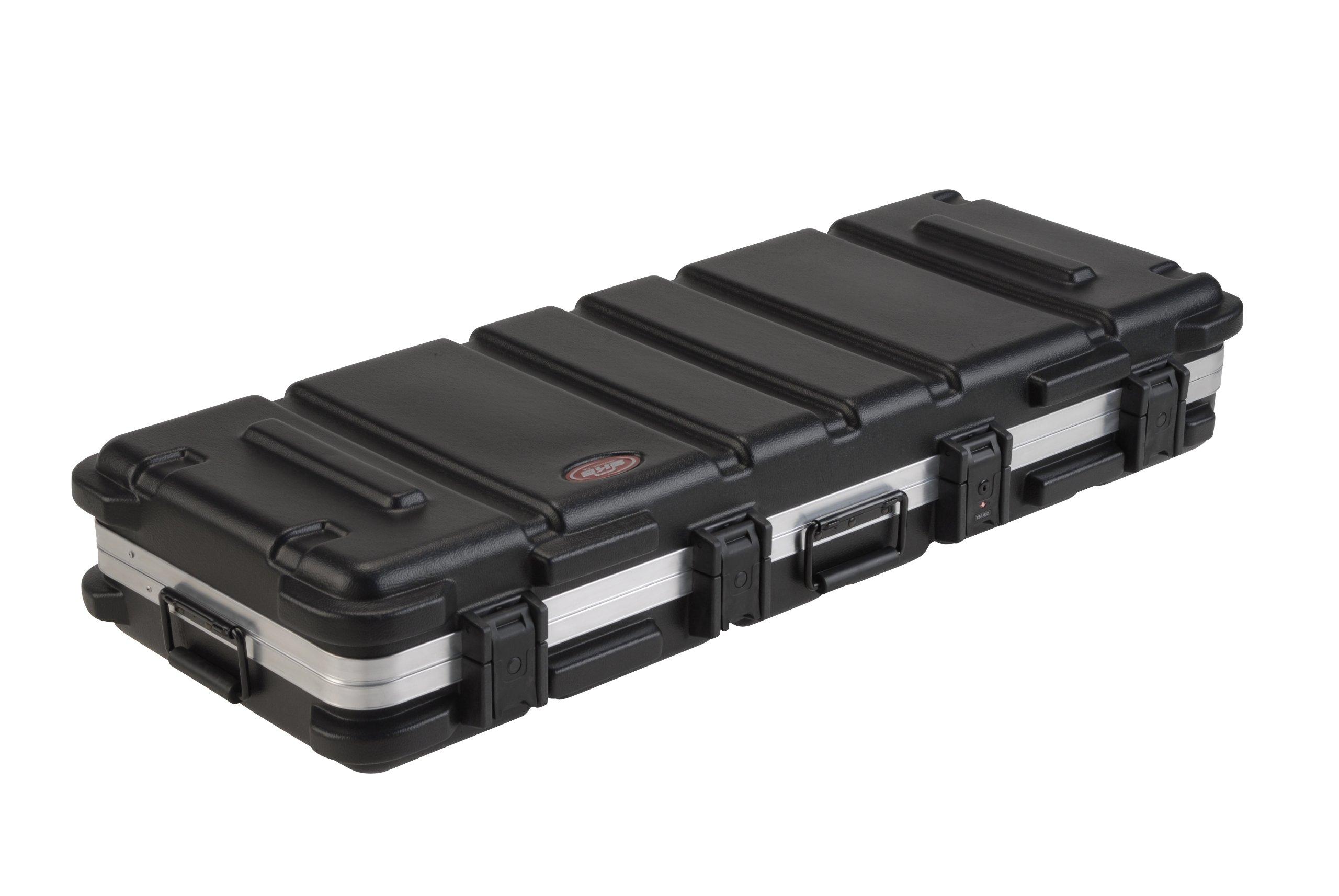 SKB ATA 61-Note Keyboard Case with Wheels, TSA Locking, Trigger Latch