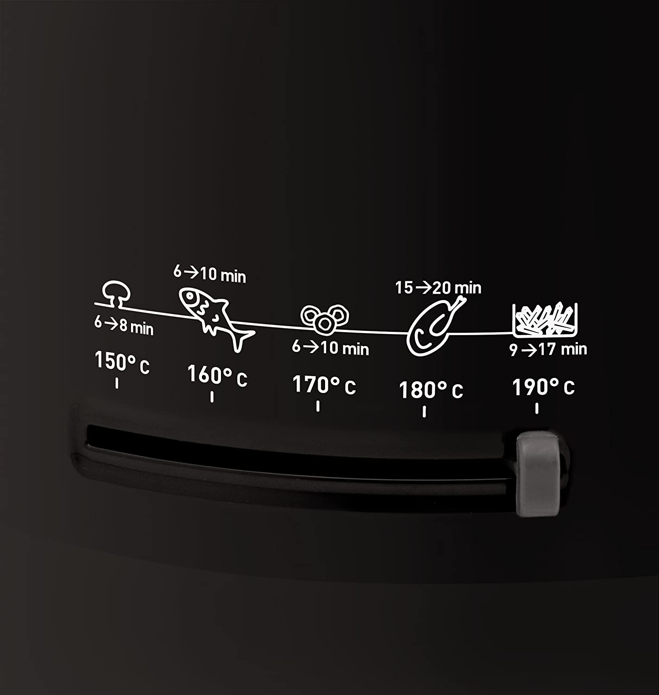 SEB Simply One Solo Independiente - Freidora (Freidora, 1,2 kg, 2,1 L, Metal, 150 °C, 190 °C): Amazon.es: Hogar
