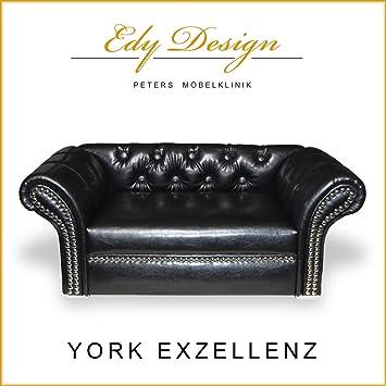 Perro sofá cama para perros Couch York Exzellenz piel sintética nuevo sofá cama Chihuahua: Amazon.es: Productos para mascotas