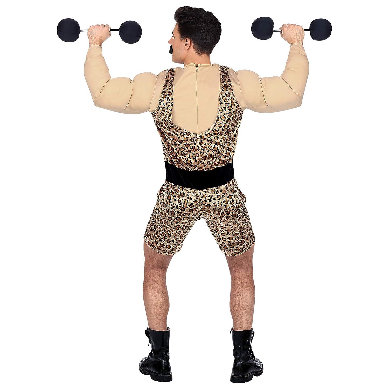 WIDMANN Disfraz de Forzudo Musculoso para Adulto XL: Amazon.es ...