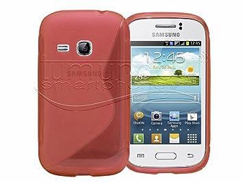 Tumundosmartphone Funda Gel TPU ROJA para Samsung Galaxy ...