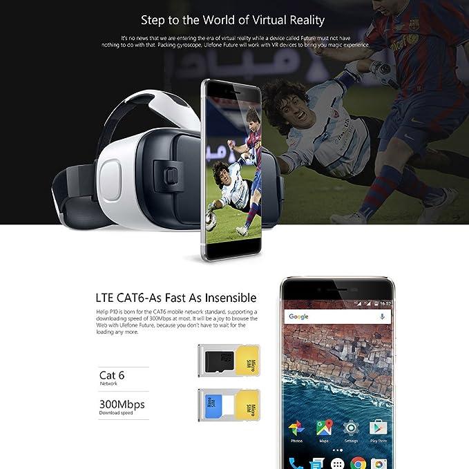 Ulefone Future Smartphone 4G LTE: Amazon.es: Electrónica