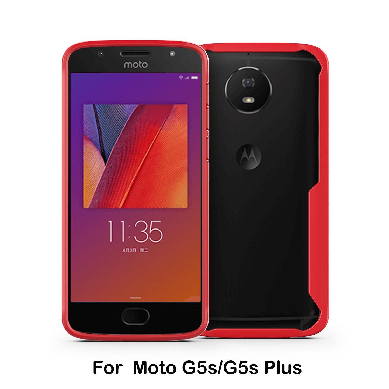 GHC Cubiertas y Estuches, para Motorola Moto G5S Plus, Delgado ...