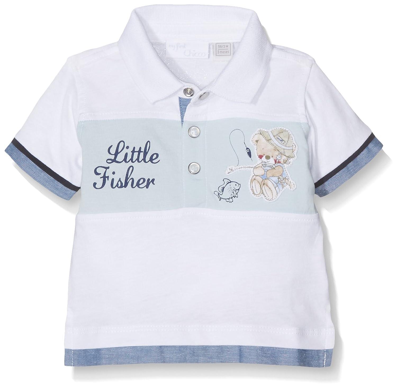 Chicco Polo Bambino Chicco 09033358000000 Polo Bimbo Bianco 68 (Taglia Produttore:068)