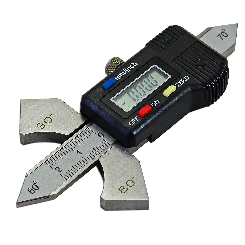 Digital Readout Welding Gauge Weld Test Ulnar & Both Metric & Inch RIVERWELDstore