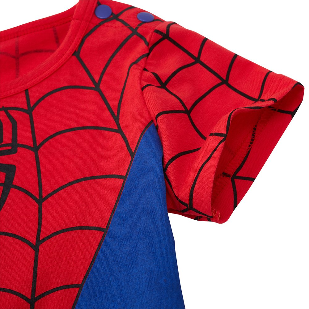 Spiderman-Inspired Infant Outfit