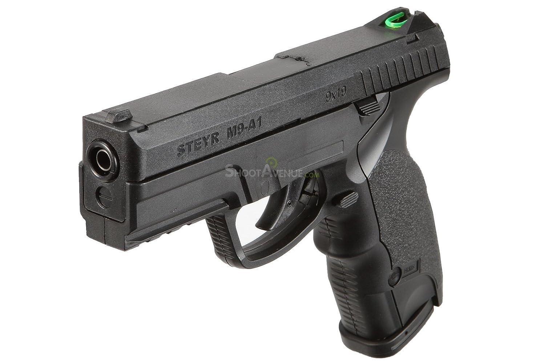 Pistola semiautomatica airsoft Steyr M9-A1 6mm Co2. 2 Julios de potencia. ASG