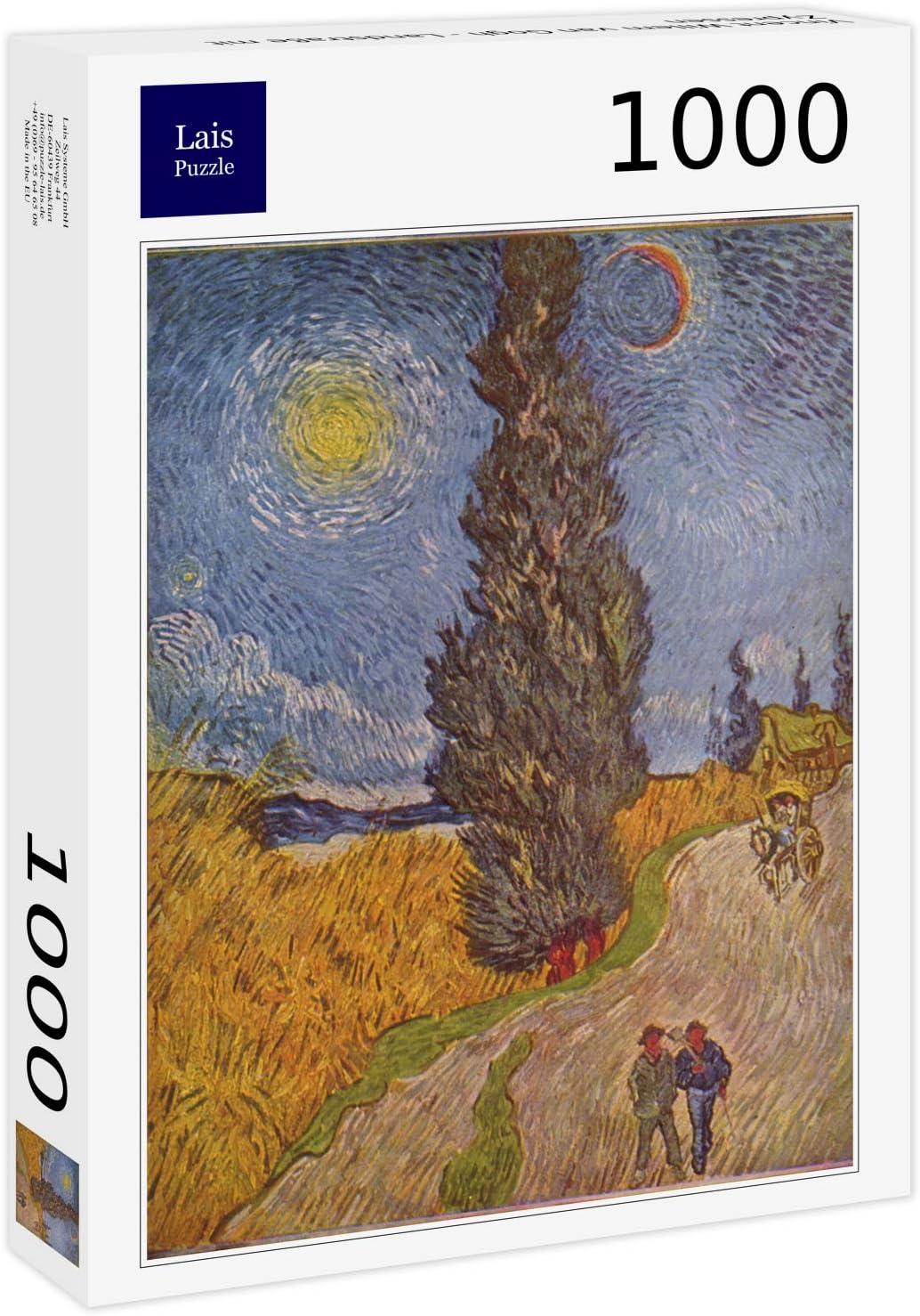 Lais Puzzle Vincent Willem Van Gogh - Camino Rural con cipreses ...