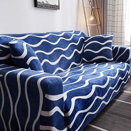 Astonishing Amazon Com Sqinna Plush Sofa Slipcover Sure Fit Sofa Cover Machost Co Dining Chair Design Ideas Machostcouk