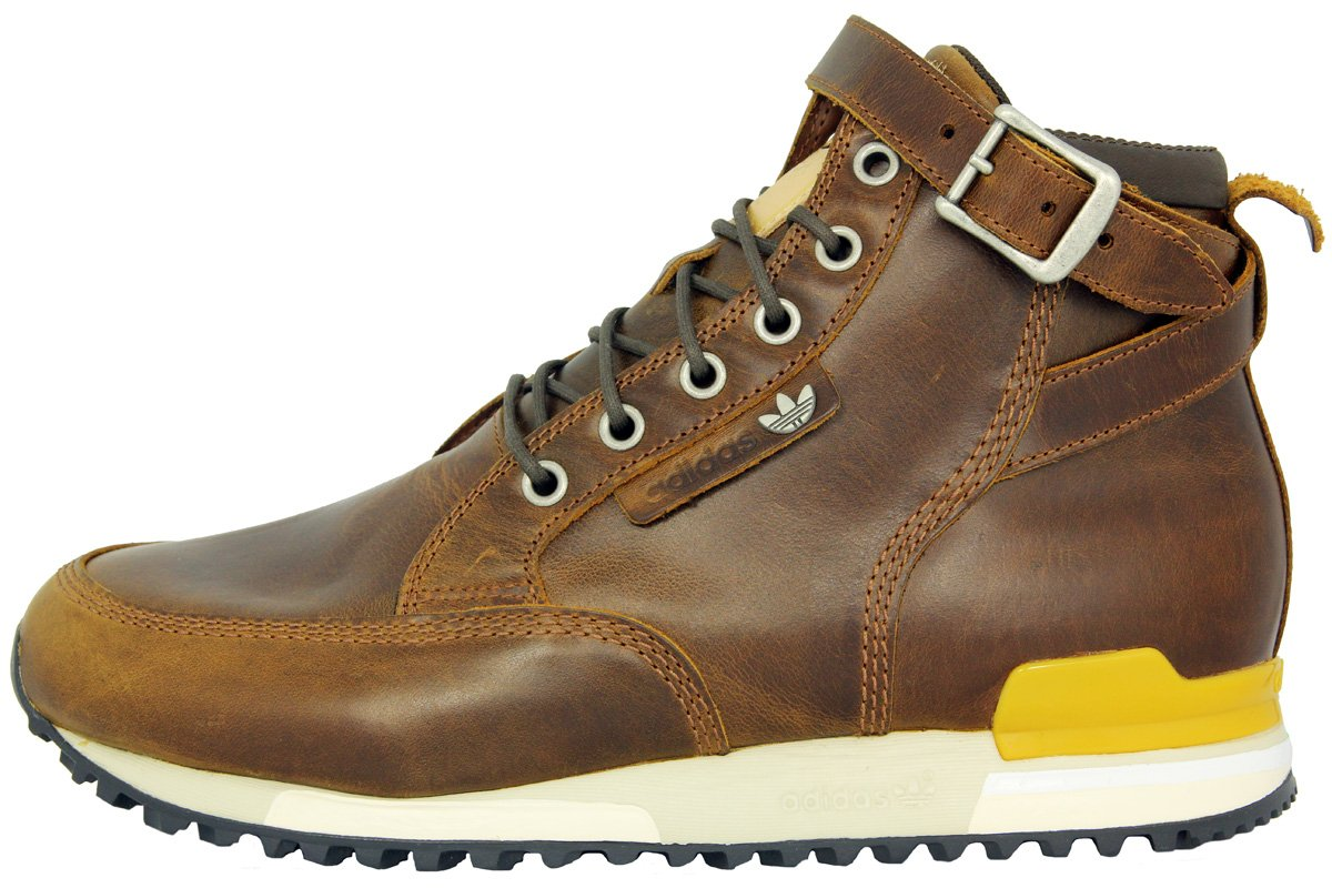 promo code 0177d c3d79 adidas ZX Riding Boots 84 LAB Brown Leather Sneakers Shoes Retro Grade  Resistance New, Brown  Amazon.co.uk  Sports   Outdoors