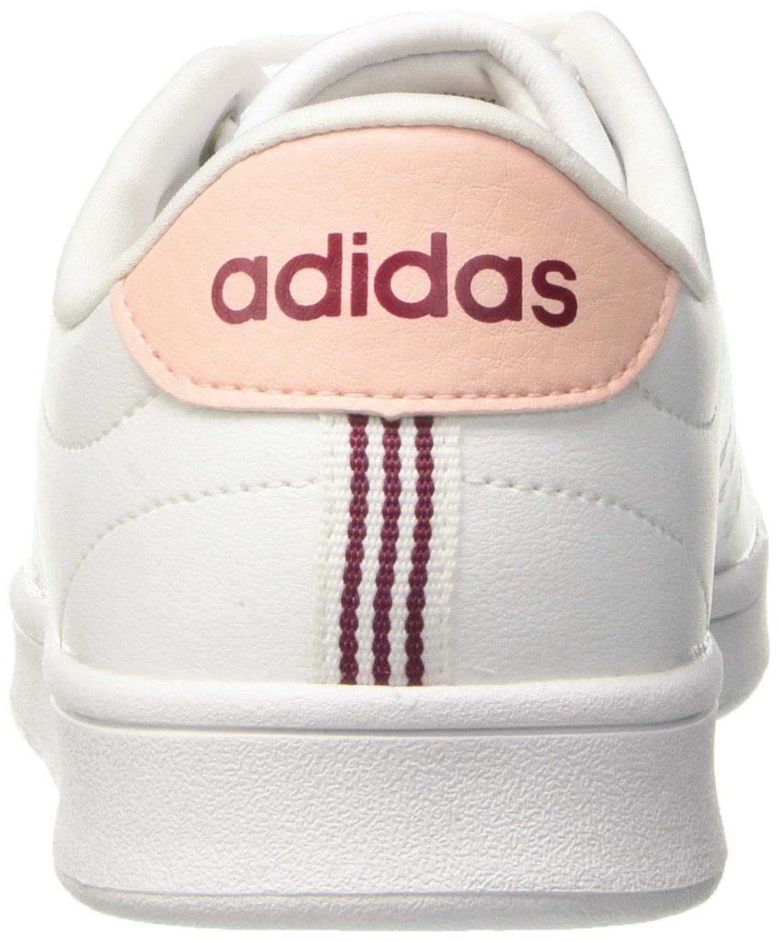 Adidas Damen (Ftwr Advantage Clean QT Fitnessschuhe, Elfenbein (Ftwr Damen Weiß/Mystery Ruby F17) 9ba079