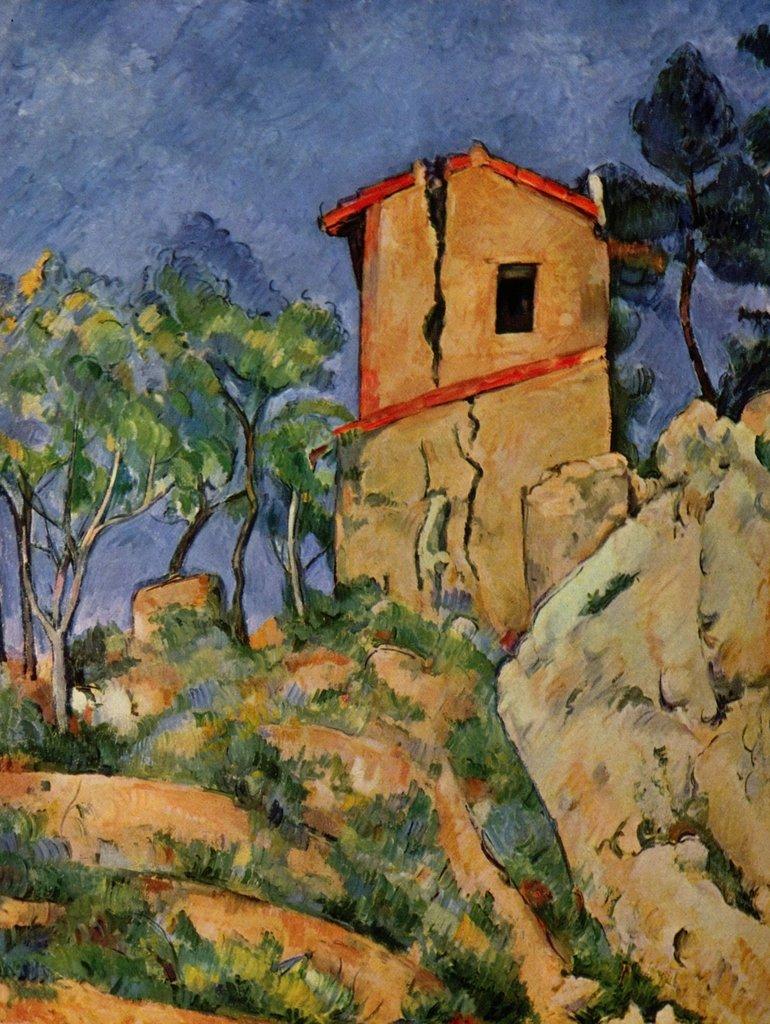 Lais Puzzle Paul Cézanne - Das Haus mit geborstenen Wänden 2000 Teile