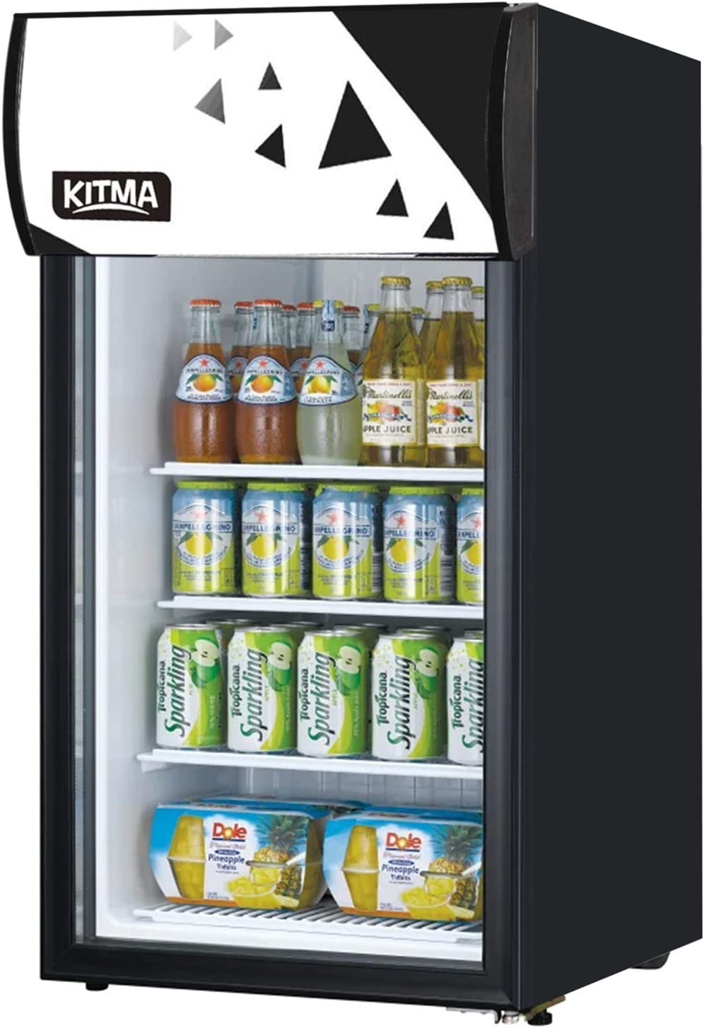 120 Can Beverage Cooler and Refrigerator