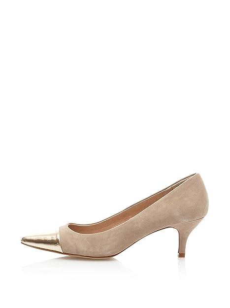 encanto de costo rebajas(mk) gran variedad de Cortefiel Zapatos Salón Tacon Bajo Punta Nude EU 38: Amazon ...