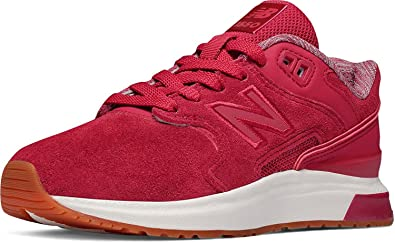 new balance men's 574 synthetic shoes red nz