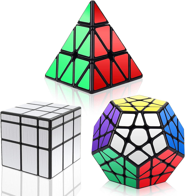 YKL WORLD YIKAILIN046FR - Juego de cubos, Multicolor, Paquete de 3 cubos