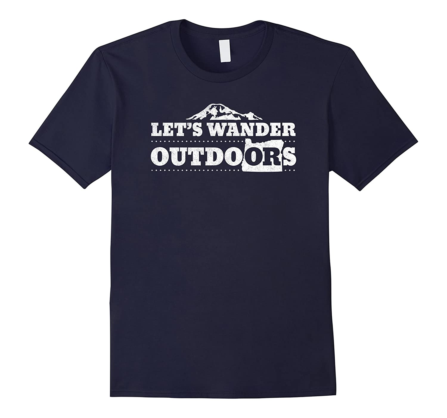 Let's Wander Outdoors - Oregon Adventure Hiker Shirt-TH