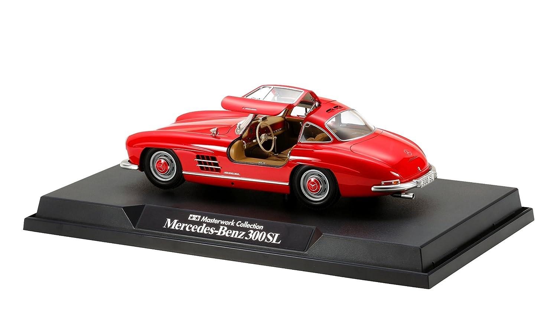 タミヤ 1/24 マスターワークコレクション No.153 メルセデスベンツ 300SL レッド 塗装済み完成モデル 21153 完成品 B01B5QALRO