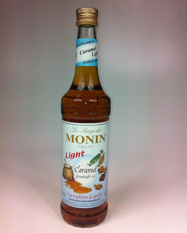 Monin Sirup Karamel Light zuckerfrei 700 ml: Amazon.de: Lebensmittel ...