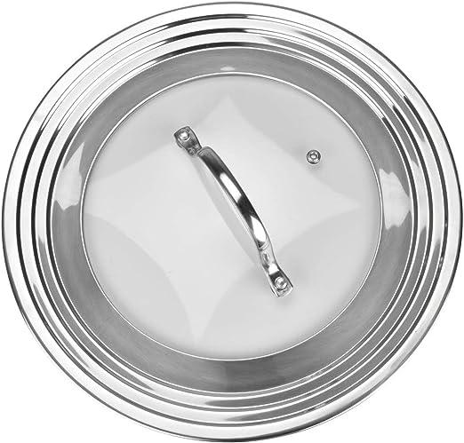 Amazon.com: Tapa universal de acero inoxidable 18/8 y ...