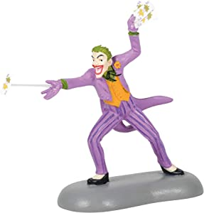 Department 56 DC Comics Batman Village Accessories The Joker Figurine, 3 Inch, Multicolor