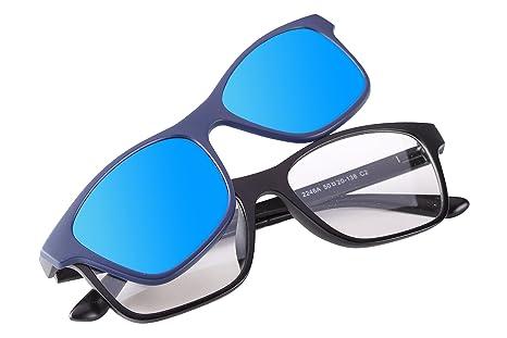 528978f61c REACTR- Polarised 5-in-1 Magnetic Clip on Sunglasses Plus Frame (UNISEX