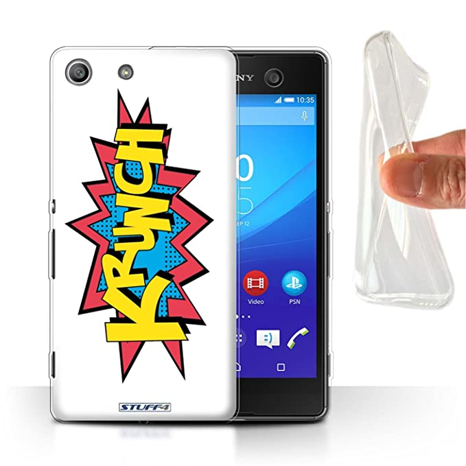Stuff4 Gel TPU Funda/Carcasa para Sony Xperia M5/Krunch ...