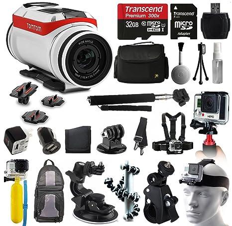 TomTom Bandit 4 K HD cámara de acción + All You Need 32 GB ...
