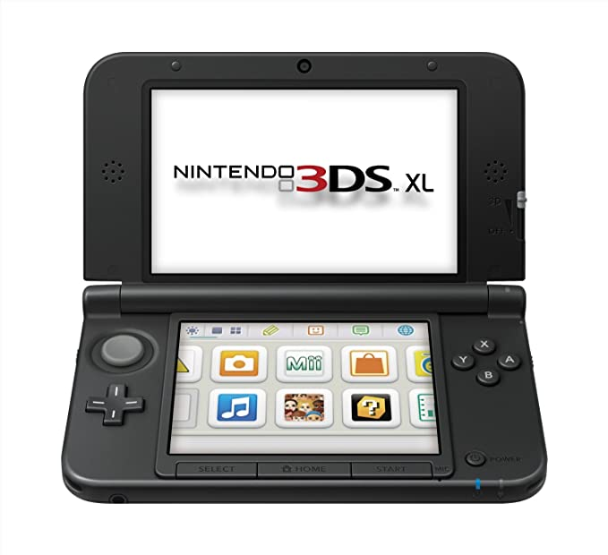 Nintendo 3DS - Consola XL, Color Negro Y Plata: Amazon.es: Electrónica