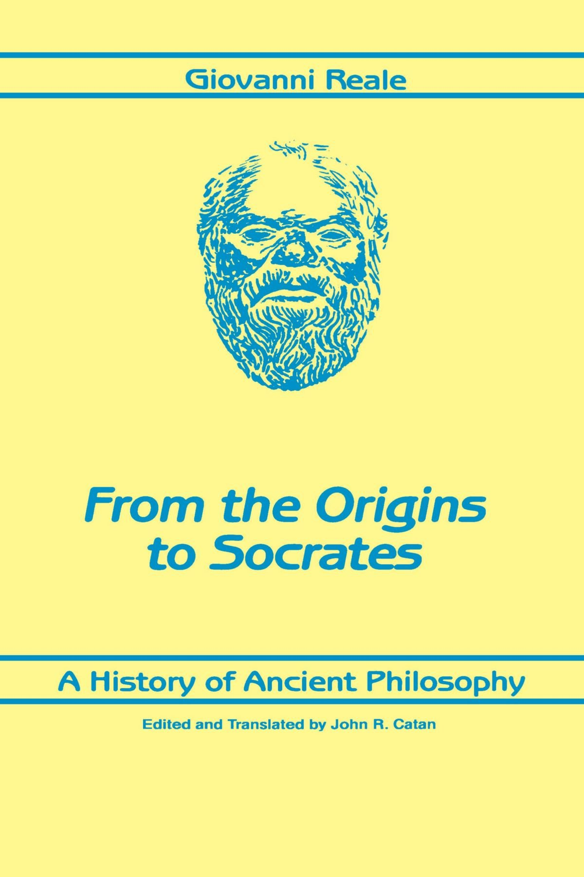 A History of Ancient Philosophy From the Origins to Socrates SUNY Series in Philosophy: Amazon.es: Reale, Giovanni: Libros en idiomas extranjeros