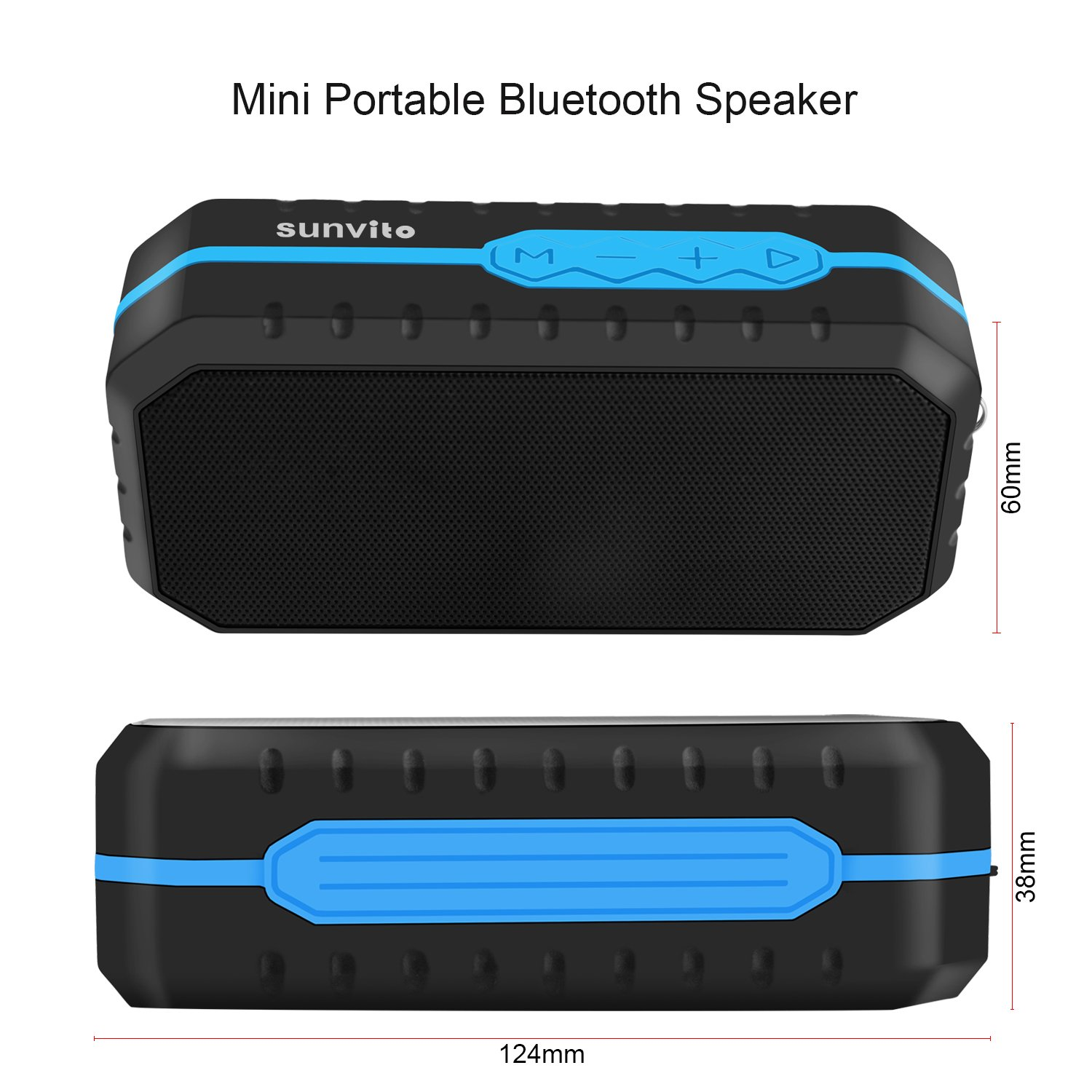 Portable Wireless Bluetooth Waterproof Hands free Image 3