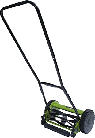 Amazon Com Aleko Ghpm12 5 Blade 12 Inch Hand Push Lawn Mower Adjustable Grass Cutting Height Garden Outdoor