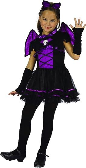 Disfraz de murciélago niña - 8 - 9 años (L): Amazon.es: Juguetes y ...